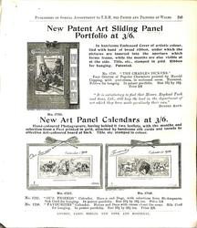 NEW PATENT ART SLIDING PANEL PORTFOLIO AT 3/6