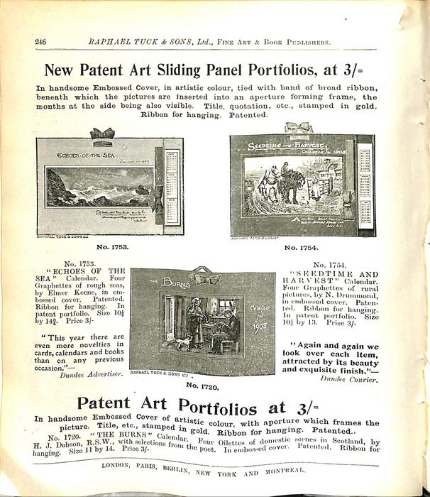 NEW PATENT ART SLIDING PANEL PORTFOLIO AT 3/=