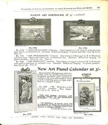 PATENT ART PORTFOLIOS AT 3/- CONTINUED