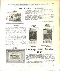 LEAFLET CALENDARS AT 2/- CONTINUED