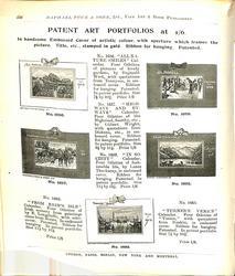 PATENT ART PORTFOLIOS AT 1/6