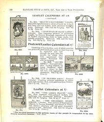 LEAFLET CALENDARS AT 1/6 - CONTINUED