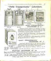 """DAILY ENGAGEMENTS"" CALENDARS"