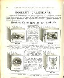 BOOKLET CALENDARS
