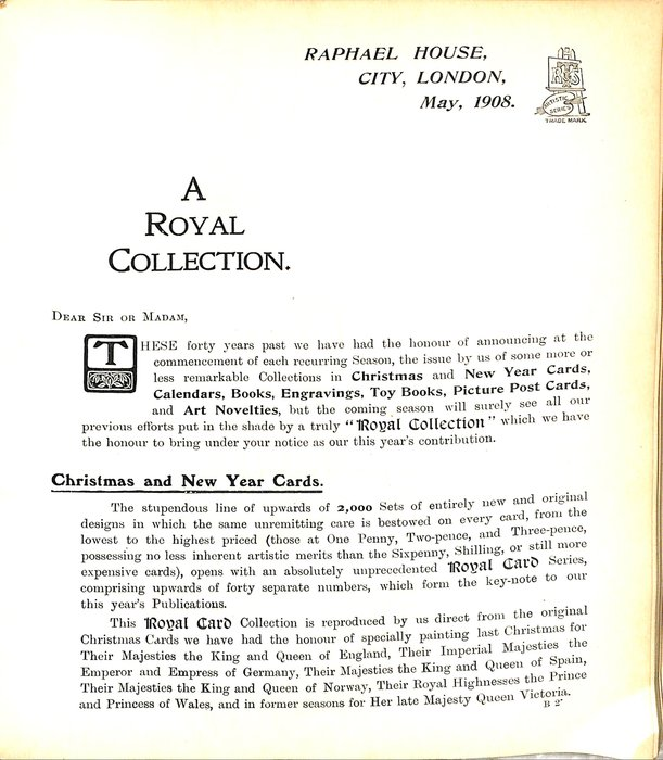 A ROYAL COLLECTION