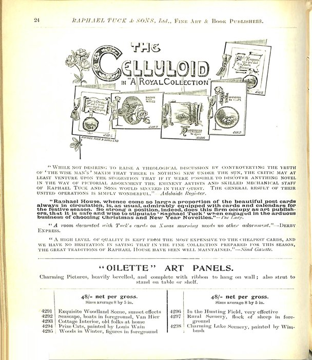 """THE CELLULOID IN """"A ROYAL COLLECTION"""""""