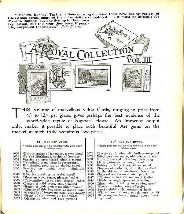 A ROYAL COLLECTION VOL. III