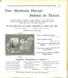 """THE """"RAPHAEL HOUSE"""" SERIES OF TEXTS."""