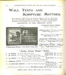 WALL TEXTS AND SCRIPTURE MOTTOES