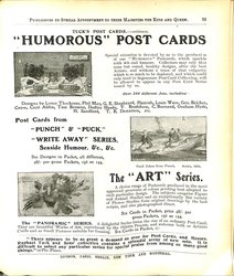 TUCK'S POST CARDS - CONTINUED
