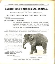 FATHER TUCK'S MECHANICAL ANIMALS (PATENTED)