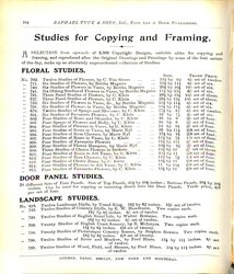 STUDIES FOR COPYING AND FRAMING