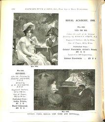 ROYAL ACADEMY, 1908