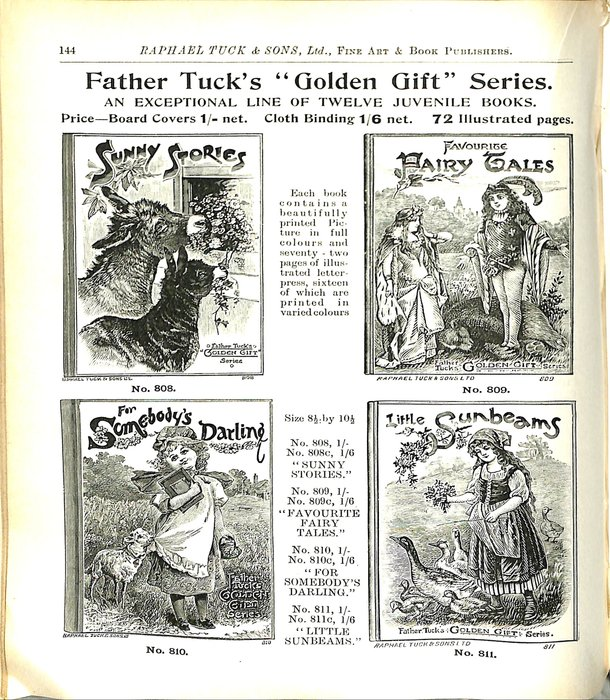 """FATHER TUCK'S """"GOLDEN GIFT"""" SERIES"""