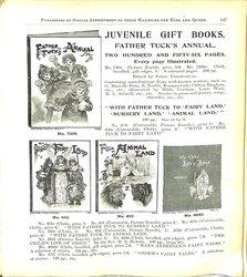 JUVENILE GIFT BOOKS. FATHER TUCK'S ANNUAL