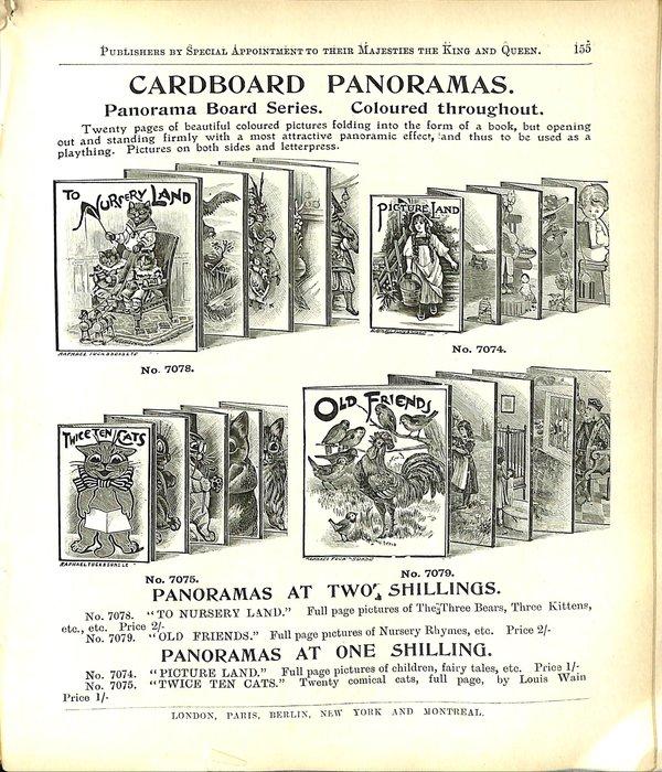 CARDBOARD PANORAMAS