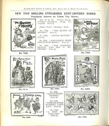 NEW TWO SHILLING UNTEARABLE STIFF-COVERED BOOKS