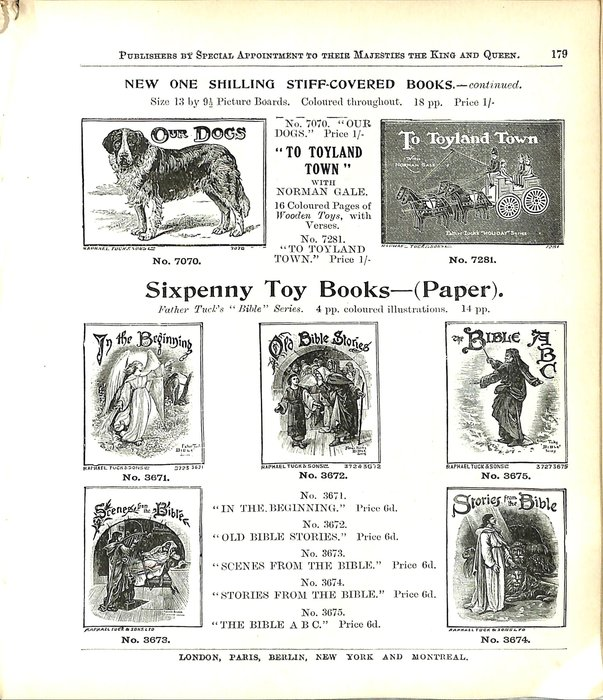 NEW ONE SHILLING STIFF-COVERED BOOKS CONTINUED