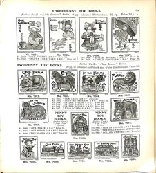 THREEPENNY TOY BOOKS