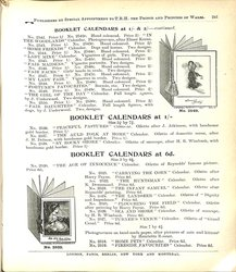 BLOTTER CALENDARS AT 1/- & 2/- CONTINUED