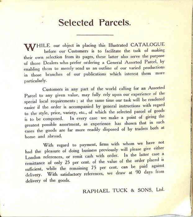 SELECTED PARCELS