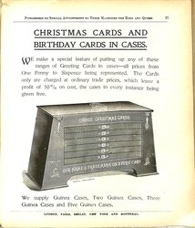 CHRISTMAS CARDS AND BIRTHDAY CARDS IN CASES