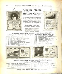 OILETTE MOTTO AND REWARD CARDS