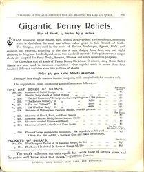 GIGANTIC PENNY RELIEFS