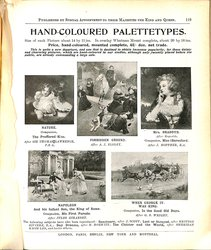 HAND-COLOURED PALETTETYPES