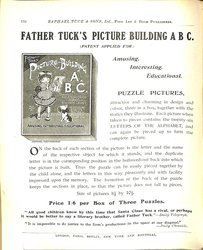 FATHER TUCK'S PICTURE BUILDING A.B.C. (PATENT APPLIED FOR)