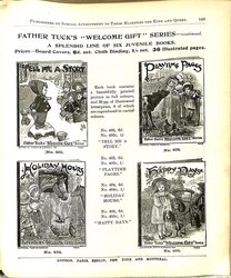 """FATHER TUCK'S """"WELCOME GIFT"""" SERIES  - CONTINUED"""