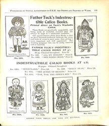 FATHER TUCK'S INDESTRUCTIBLE CALICO BOOKS