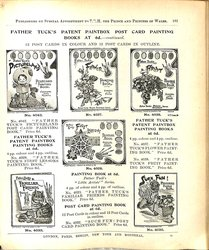 FATHER TUCK'S PATENT PAINTBOX PAINTING BOOKS AT 6D - CONTINUED
