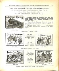 NEW ONE SHILLING STIFF-COVERED BOOKS - CONTINUED