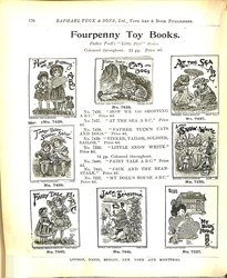 FOURPENNY TOY BOOKS