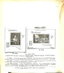 leaflet calendars (part of page missing)