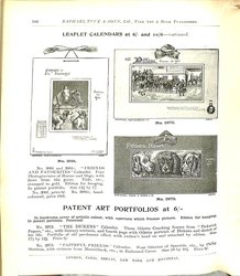 LEAFLET CALENDARS AT 6/- AND 10/6 - CONTINUED