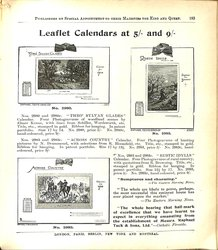 LEAFLET CALENDARS AT 5/- AND 9/-