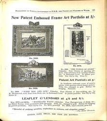 NEW PATENT EMBOSSED FRAME ART PORTFOLIO AT 5/=