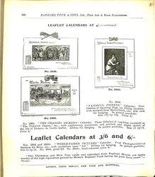 LEAFLET CALENDARS AT 4