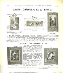 LEAFLET CALENDARS AT 2/- AND 4/-