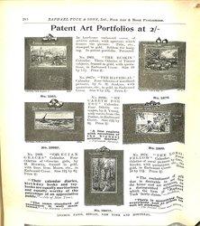 PATENT ART PORTFOLIOS AT 2/-
