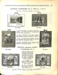 LEAFLET CALENDARS AT 1/- CONTINUED