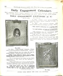 DAILY ENGAGEMENT CALENDARS