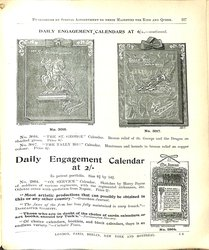 DAILY ENGAGEMENT CALENDARS AT 6/- CONTINUED
