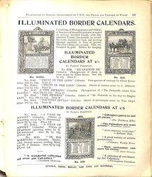 ILLUMINATED BORDER CALENDARS