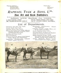 RAPHAEL TUCK & SONS, LTD.