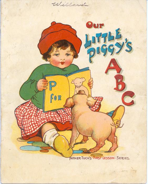 OUR LITTLE PIGGY'S ABC