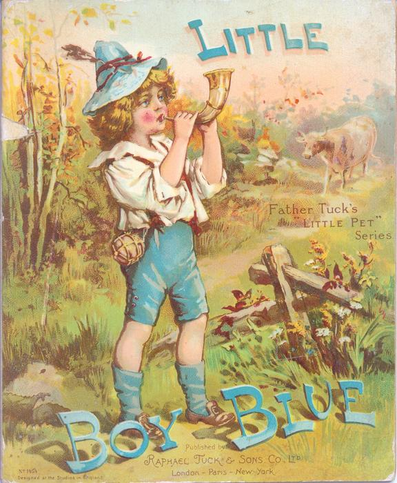 little boy blue tuckdb ephemera