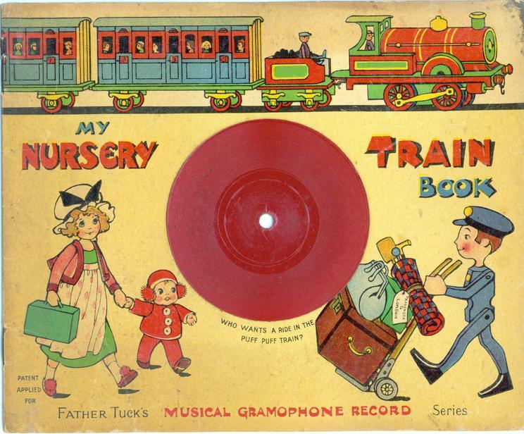 MY NURSERY TRAIN BOOK